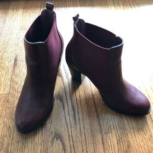 Isaac Mizrahi Live Leather Bootie with Goring